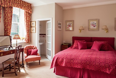 Gliffaes Country House Bedroom